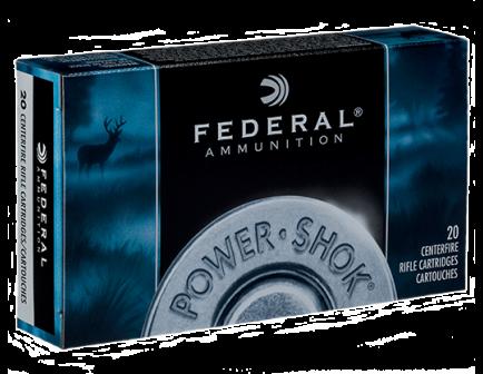 Federal 280 150gr Soft Point Power-Shok Ammunition 20rds - 280B
