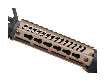 Ergo Ultra-Lite Key Mod Replacement Handguard in Dark Earth