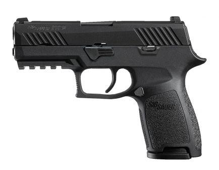 """Sig Sauer P320C .40 S&W 3.9"""" Pistol w/ SIGLITE Night Sights, Black"""