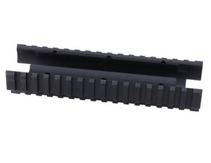 "ERGO (SHORT) MOSSBERG 500/590 FOREND: 5-3.8"" inner tube (w/ LowPro rail covers)-Black-4865-SHORT"
