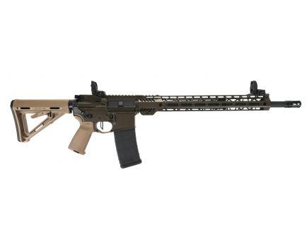 "PSA Custom 18"" 5.56 NATO CHF Rifle 15"" MLOK, 3.5 lb Flat FCG, FDE Bolt ODG/Tan"