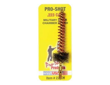 Pro-Shot .223/5.56 AR15/M16 Military Style Bronze Chamber Brush - 223CH