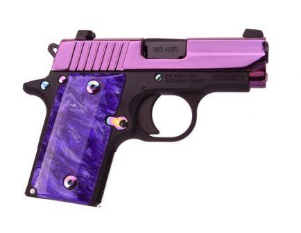 Sig Sauer P238 PSP .380 ACP Pistol, Purple with Night Sights - 238380PSP
