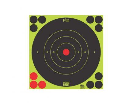 """Pro-Shot Splatter Shot 12"""" Green Bullseye Target, 5-Pack - 12B-GREEN-5PK"""