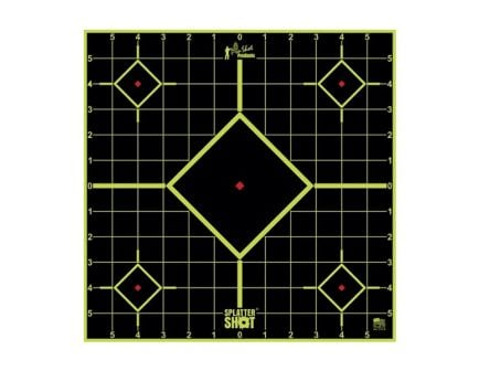 "Pro-Shot 12"" Splatter Shot Green Sight Peel and Stick Target, 5-Pack - 12SI-GREEN-5"