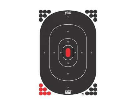 "Pro-Shot Silhouette 12""x17"" Peel and Stick Target, 5-Pack - SILH-IN-5PK"