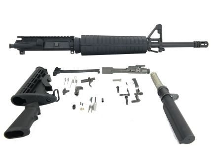 "psa 16"" midlength 5.56 nato 1:7 a2 nitride freedom rifle kit"