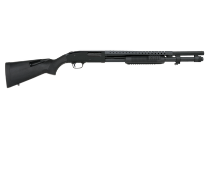 "Mossberg 590 Tactical Tri-Rail 20"" 12ga Black Synthetic Stock 50772"