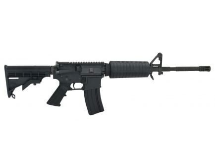 "PSA PA-15 16"" Carbine-Length 5.56 NATO 1/8 Phosphate M4  Classic Rifle, Black"