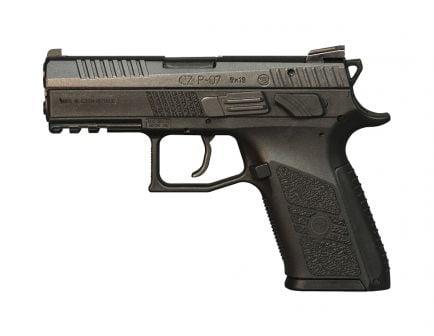CZ P07 9mm Pistol, Black - 91086