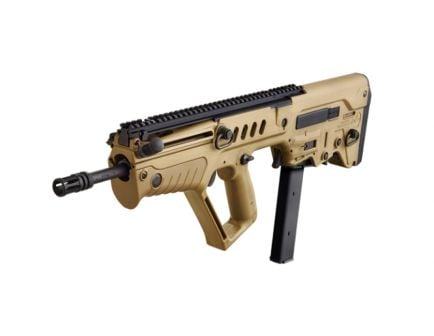 "IWI 17"" Tavor SAR 9mm Parabellum Bullpup Rifle, FDE"