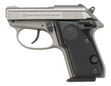 Beretta 3032 Tomcat Inox .32 ACP Tip-Up Barrel Pistol - J320500
