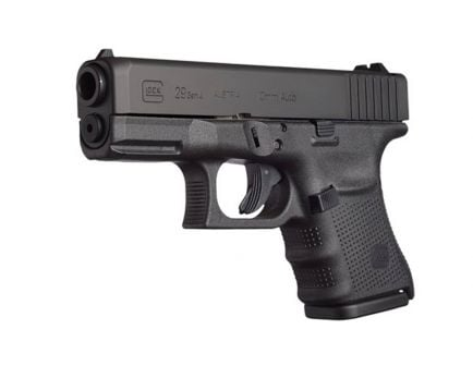 Glock 29 Gen 4 10mm Pistol, Black PG2950201