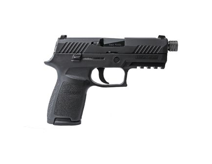 Sig Sauer P320 Compact 9mm Pistol w/Threaded Barrel - 320C-9-BSS-TB