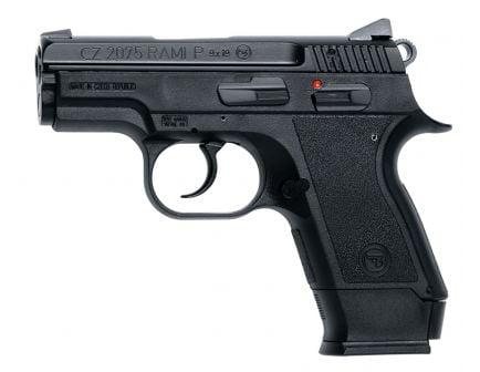CZ 2075 RAMI 9mm Pistol, Black - 91750