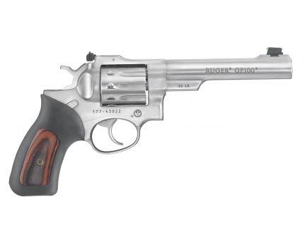 Ruger GP100 .22LR Revolver, Stainless - 1757