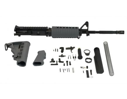 "PSA 16"" Carbine-Length 5.56 NATO 1/7 M4 Phos Classic Rifle Kit, Gray"