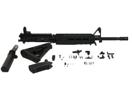 "Image of ar 15 moe kit, containing a PSA 16"" 5.56 upper."