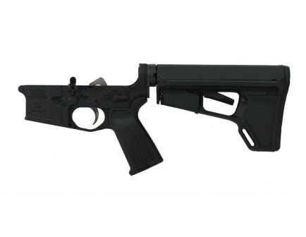 black ar 15 complete lower with magpul