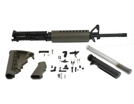 "PSA 16"" Freedom Midlength Nitride 5.56 NATO 1:7 Rifle Kit, OD Green - 5165449753"