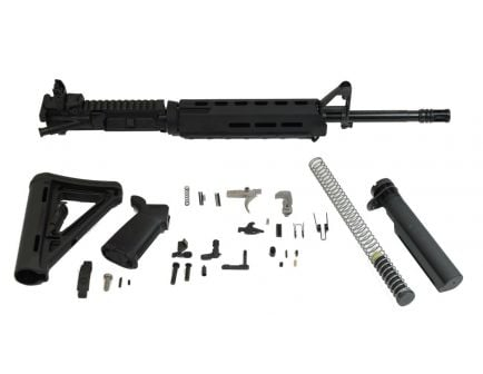 "PSA 16"" Midlength 5.56 NATO 1/7 Phosphate MOE EPT Rifle Kit & Rear MBUS"