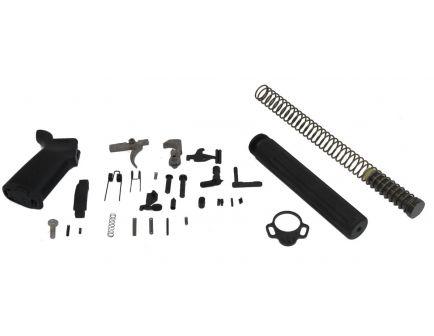AR- 15 Pistol Lower Build Kit in Black