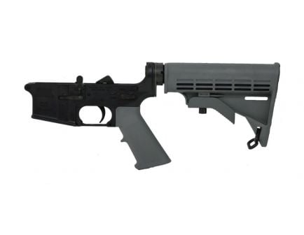BLEM PSA AR15 Complete Classic Stealth Lower, Gray