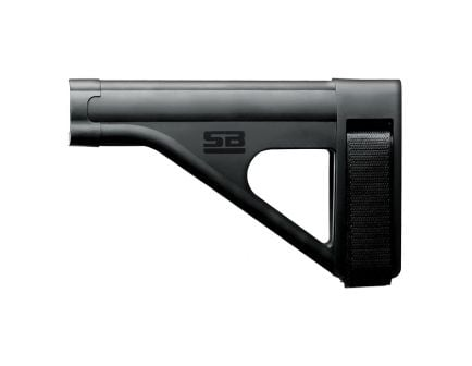 SB Tactical SOB AR Pistol Stabilizing Brace W/ SBT Logo, Black