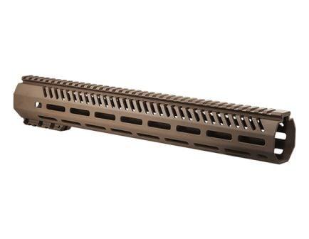 "MFT Tekko 15"" Free Float M-LOK AR-15 Rail System, Scorched Dark Earth"