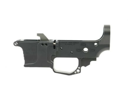 BLEM PSA Stripped Billet .45 Glock© Style Lower w/mag Catch Assembly and Ejector