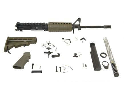 "PSA 16"" Carbine-Length 5.56 NATO 1/7 Phos M4 Classic Rifle Kit, ODG"