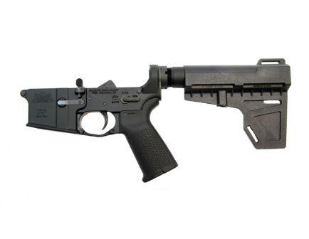 Shockwave pistol ar 15 complete lower receiver