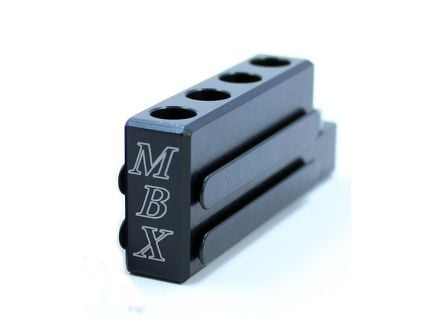 MBX AR Inter-Loc Block (Joins Extension Basepads), Black - mbxarblk