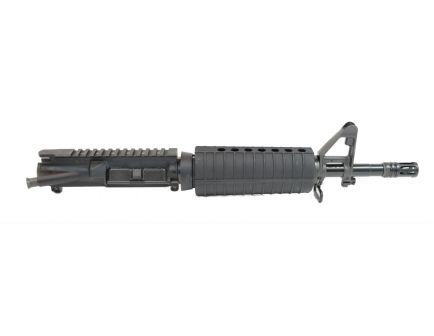 "Sideview of PSA 11.5"" barreled upper receiver made to shoot 5.56 ammunition."
