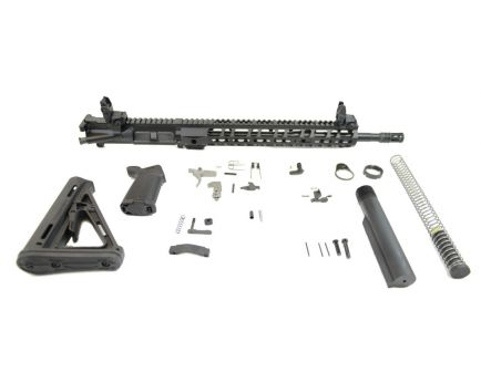 "PSA 16"" Carbine-Length M4 5.56 NATO 1/8 Phosphate 13.5"" Lightweight M-Lok MOE EPT Rifle Kit w/MBUS Sight Set"