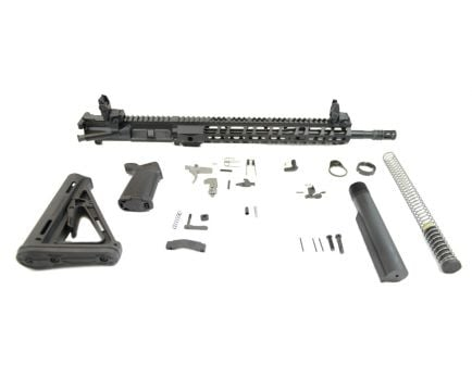 "PSA 16"" M4 5.56 NATO 1/7 Carbine-Length  Nitride 13.5"" Lightweight M-Lok MOE EPT Rifle Kit With MBUS Sight Set - 516447430"
