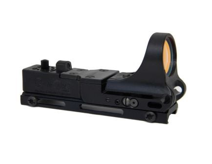 C-More Railway Red Dot Sight, Polymer Body, Standard Switch, 2 MOA Dot
