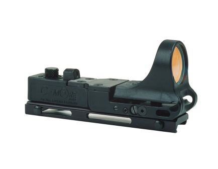 C-More Railway Red Dot Sight, Polymer Body, Click Switch, 2MOA Dot