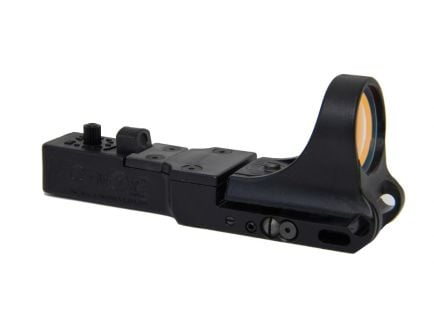 C-More SlideRide Red Dot Sight, Polymer Body, Standard Switch, 2 MOA Dot