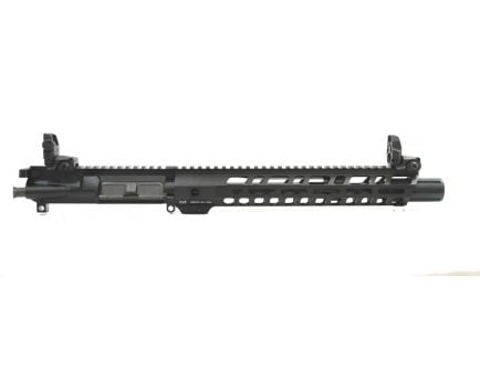 "Side view of PSA 10.5"" ar 15 barreled upper assembly."