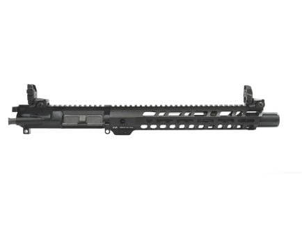 """PSA 10.5"""" 5.56 Lightweight M-lok Slant 12"""" Upper With MBUS Sight Set, BCG, CH, & Fluted Flash Can - 516447128"""