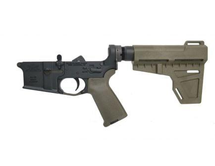 BLEM PSA AR-15 Complete MOE Shockwave Pistol Lower, ODG