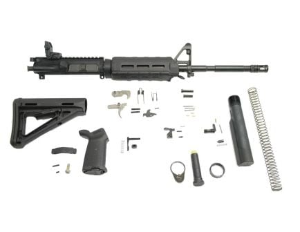 "PSA 16"" carbine length magpul ar15 kit with moe hand guard."