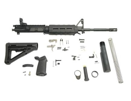 "PSA 16"" M4 5.56 NATO 1/8 Phosphate MOE EPT Rifle Kit w/ Rear MBUS"