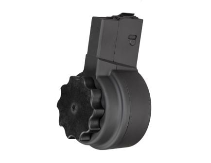 X-Products X-25 50rd Drum Magazine AR .308 SR-25, Black - X25-M-BLK