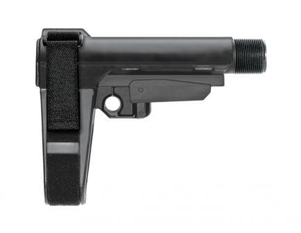 SB Tactical SBA3 Adjustable 5-Position Pistol Stabilizing Brace, Black
