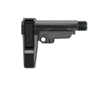 SB Tactical SBA3 Pistol Stabilizing Brace, Black - SBA3-01-SB