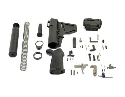 PSA Shockwave MOE Pistol Brace AR-15 Lower Build Kit with EPT