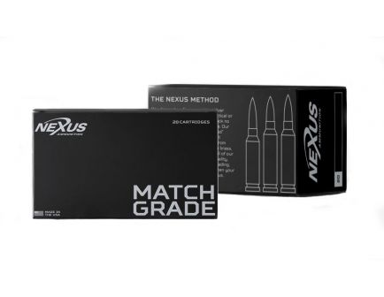 Nexus 223 Remington 77gr Sierra Matchking BTHP 20 Rnds - 10001