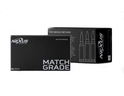 Nexus 308 Winchester 175gr Sierra Matchking BTHP 20 Rnds - 10004